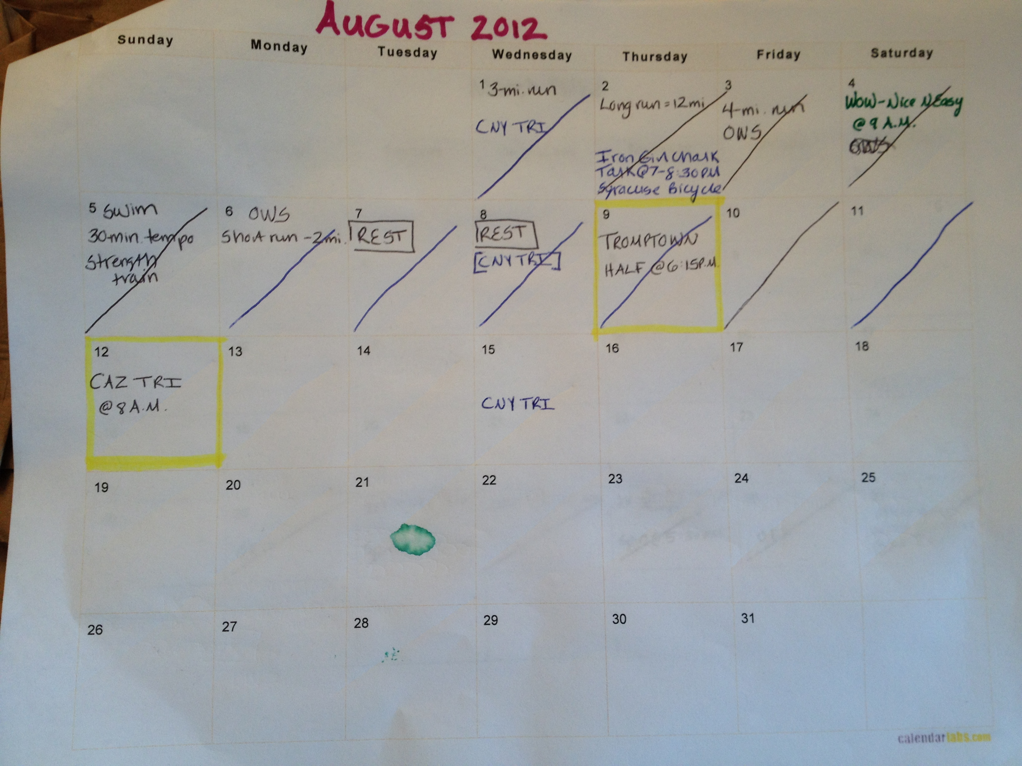 Last Sunday In August Felt More Like >> Write It Down Do It Up Week Of August 12 Fitness And Frozen Grapes
