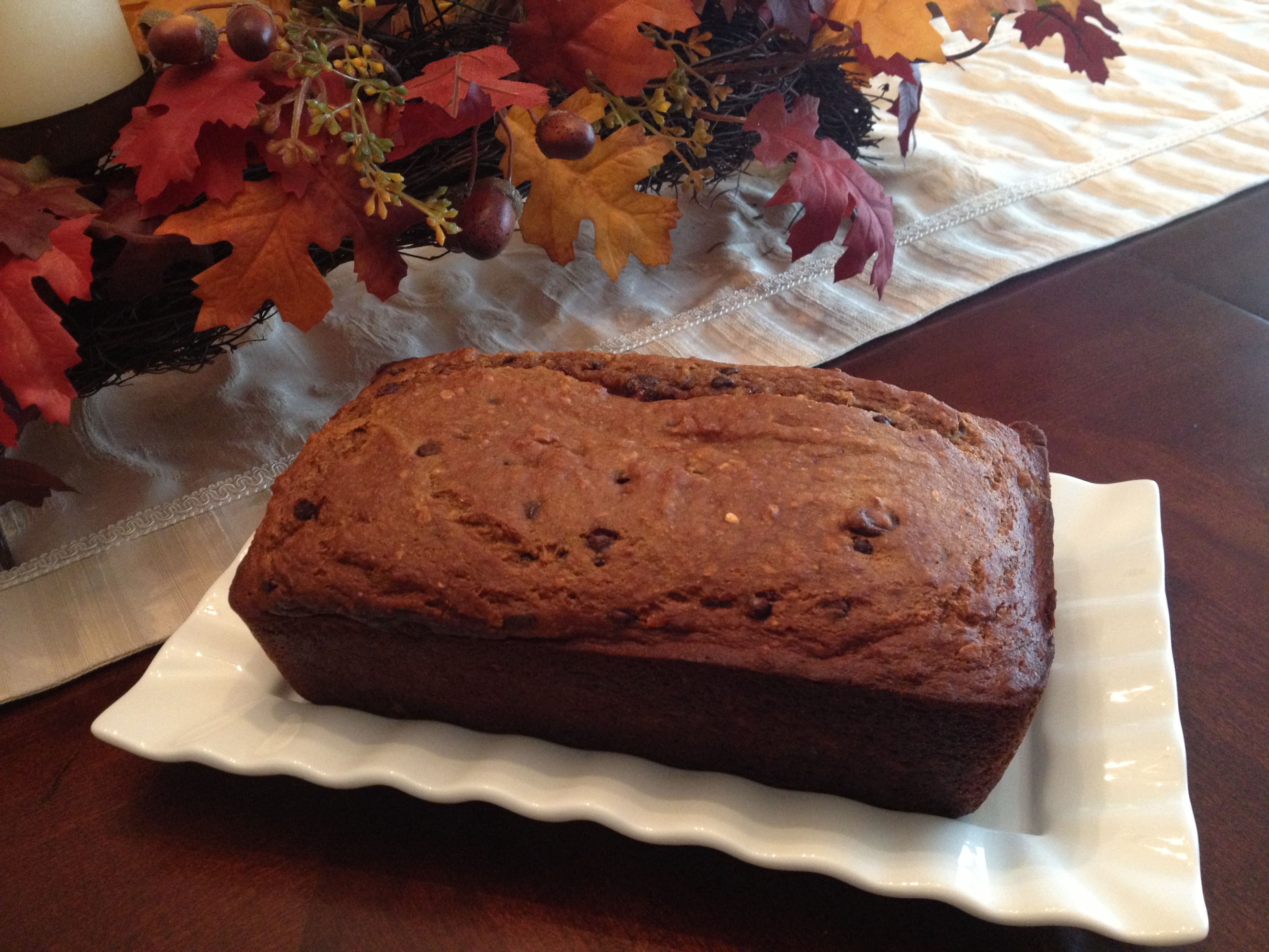 Protein Packed Pumpkin Bread Fitness And Frozen Grapes