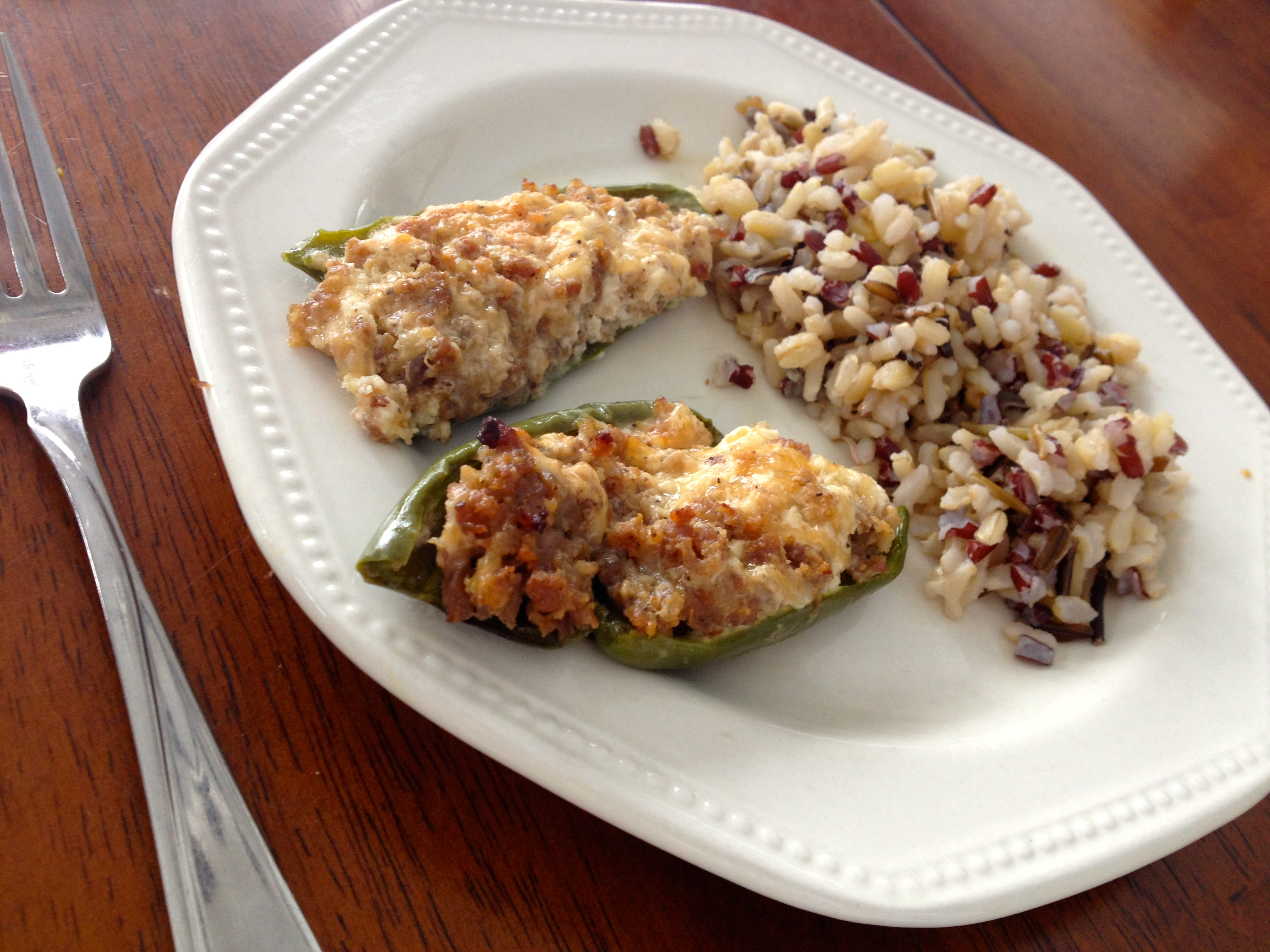 12:28-lunch-peppers-wild-rice