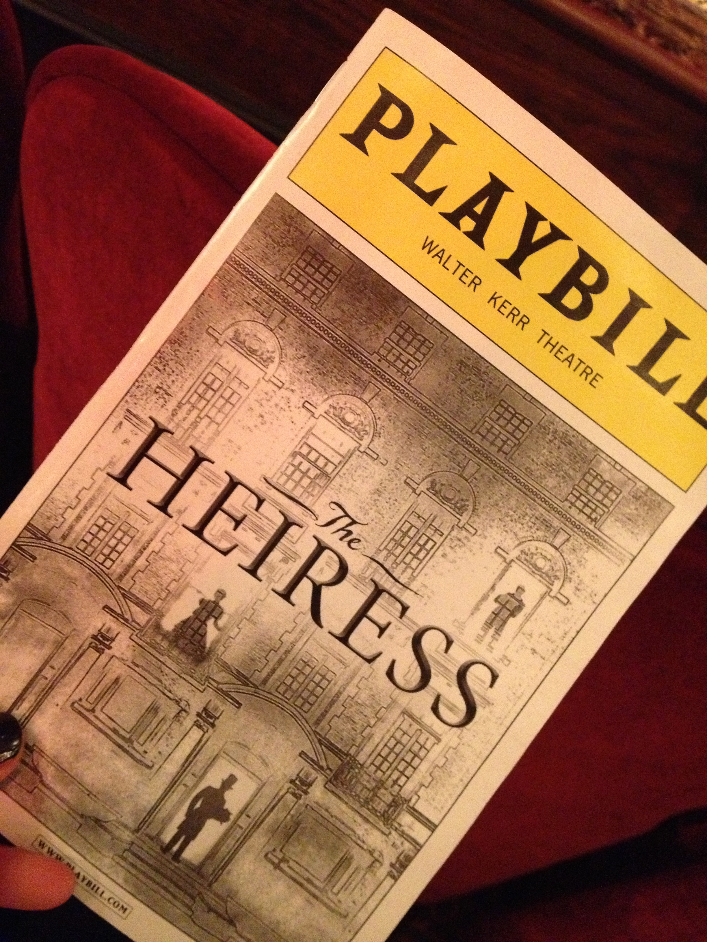 the-heiress-broadway-playbill