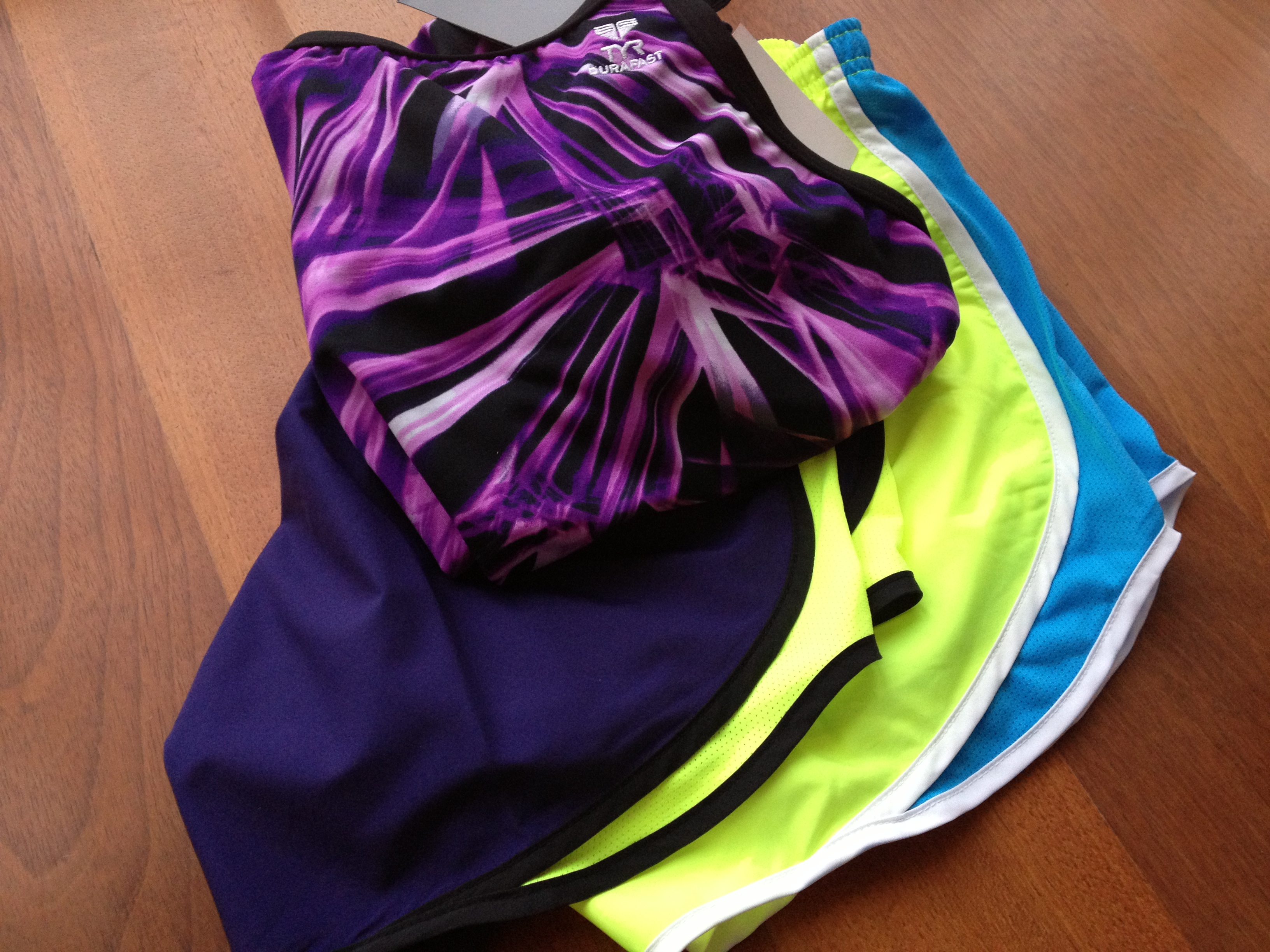nike-running-shorts-tyr-swimsuit